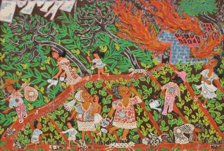 Maria Auxiliadora da Silva O Incendio (The Fire), 1973