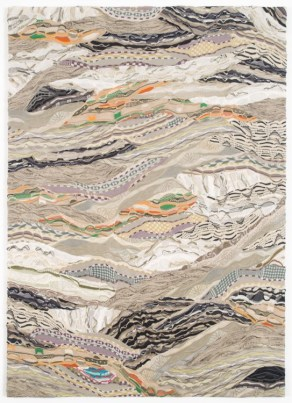 Jayson Musson Pygmalion VI, 2012 Mercerized cotton stretched over cotton 84 x 60 inches