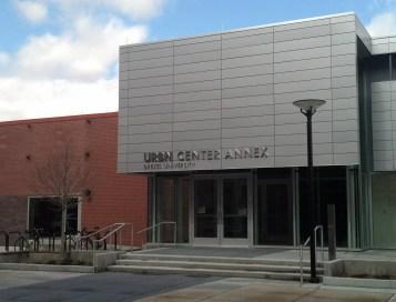 The URBN Center Annex at 3401 Filbert Street