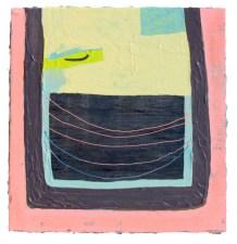 Open Vent, 2013, Acrylic on panel, Adam Lovitz, photo by artist