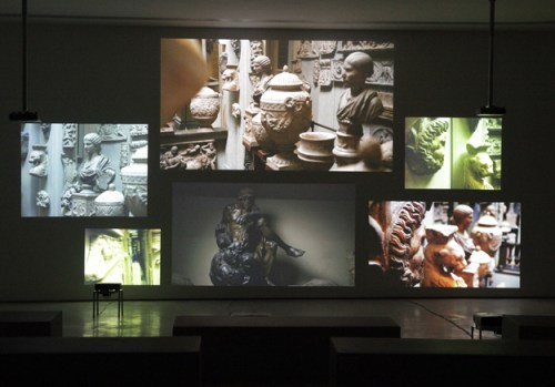 Inventory, 2012. Fiona Tan, Dutch (born Indonesia), born 1966. HD and video installation, 16 minutes, 30 seconds. Image courtesy of the artist and the Frith Street Gallery.