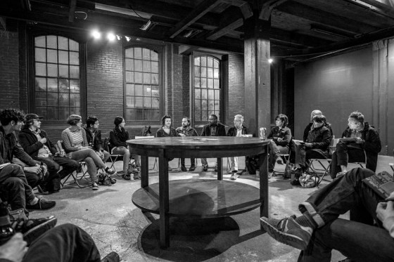 CITYWIDE meeting. Image: Jaime Alvarez.