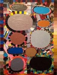 Dominic Terlizzi, PHASE MOON, acrylic on canvas, 2013.