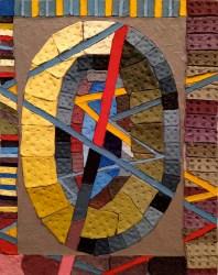 Dominic Terlizzi, THRASHER TROVE, acrylic on canvas, 2013.