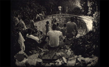Rick Charnoski & Coan Buddy Nichols, Fruit of the Vine (film still), 1999. 8mm film.