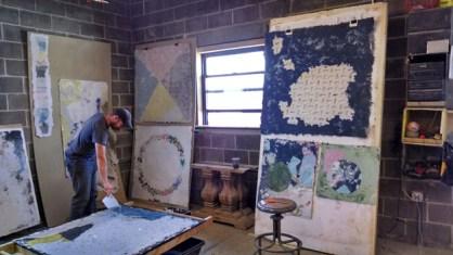 John Heron at the RAIR studio