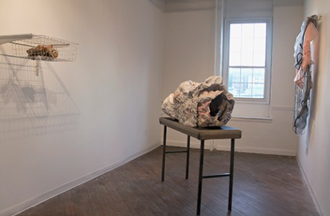 Breaker, Maggie Casey, mixed media, installation view, 2014.