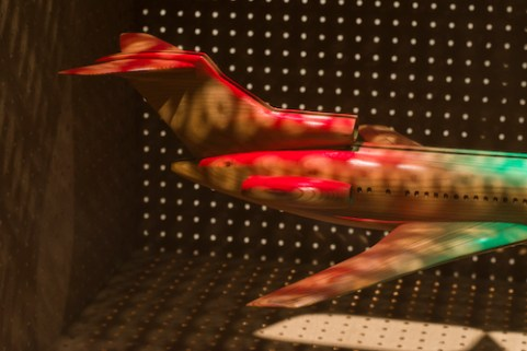 D.B. Cooper's 727 (detail)