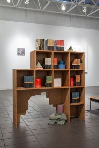 Suzanne Seesman, Lost Worlds on Television, Installed at Moore College of Art, 2013