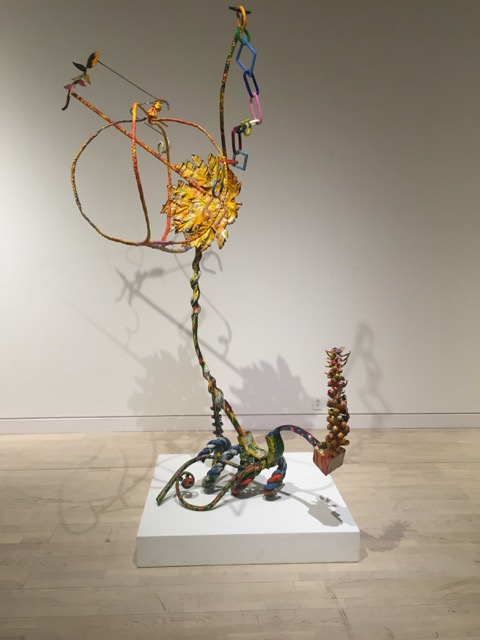 Nancy Graves, Whiffle Tree, (Pendular Series), 1985