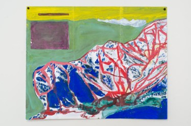 Jocko Weyland, Squaw Valley (Yellow Sky), 2013. Courtesy Kerry Schuss and Fleisher/Ollman Gallery.