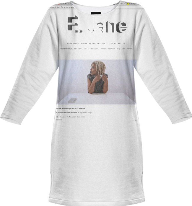 E. Jane, dress, 2015