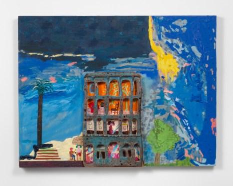 Chris Johanson and Johanna Jackson, Untitled, 2014-2015, Fleisher/Ollman Gallery. Image: Claire Iltis.
