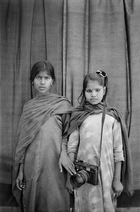 Sunita, Sita, and Nirmala, 2003. Gauri Gill, Indian, born 1970. Inkjet print, Sheet: 28 × 42 inches (71.1 × 106.7 cm). Collection of Thomas Erben Gallery, New York.