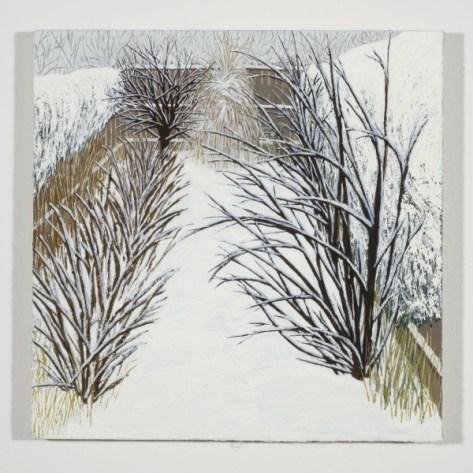Kensington, Winter Becky Suss. Oil on linen. 2010