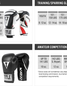 Boxing glove size chart mma also what gloves should  get rh titleboxing