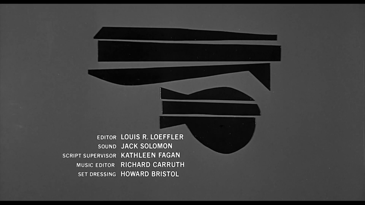Anatomy of a Murder – Title Sequence by Saul Bass