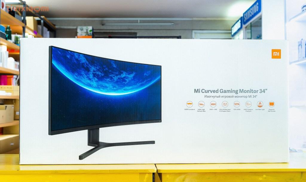 """Màn hình cong Mi 34"""" Mi Curved Gaming Monitor 34"""""""