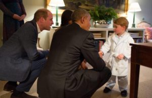 Principe George e Obama
