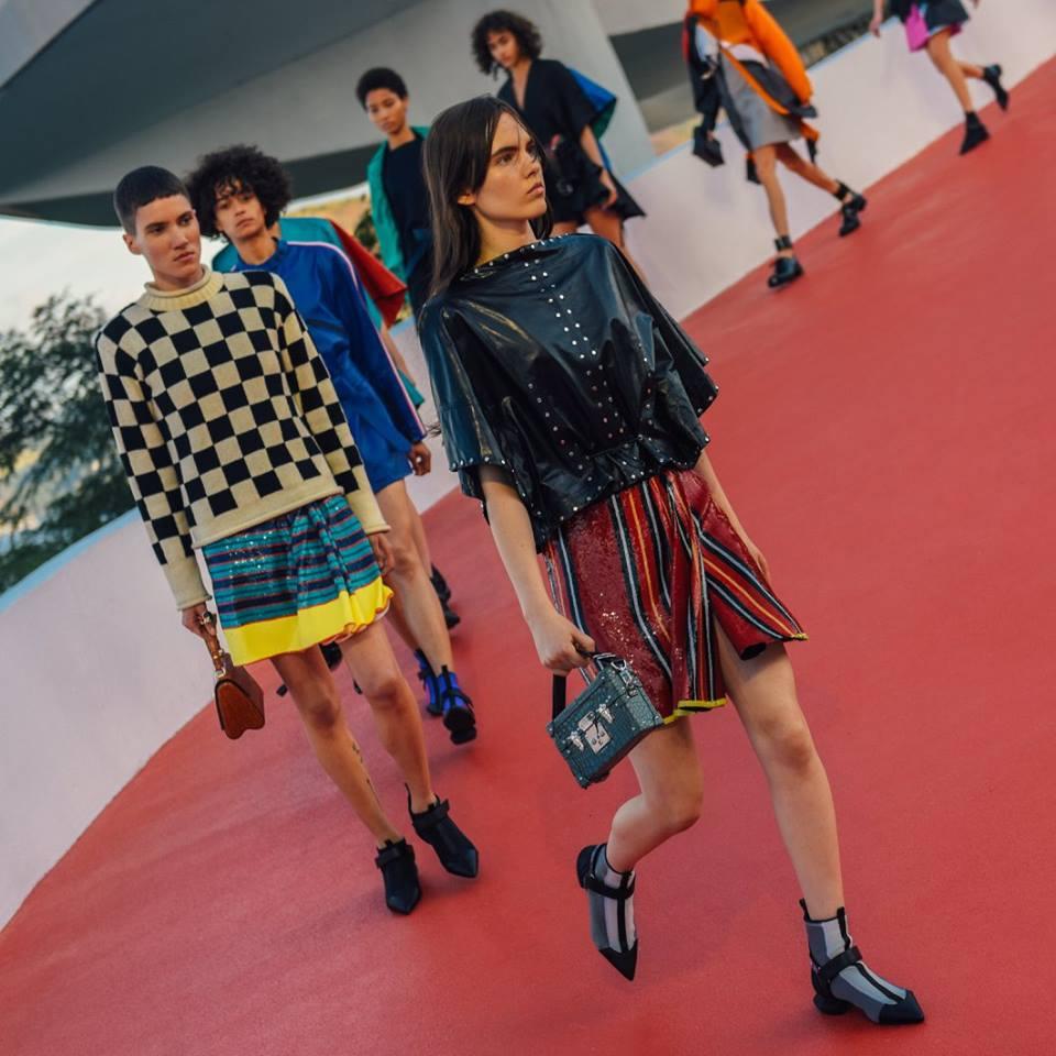 Louis Vuitton la Cruise 2017 a Rio de Janeiro celebra lo sport