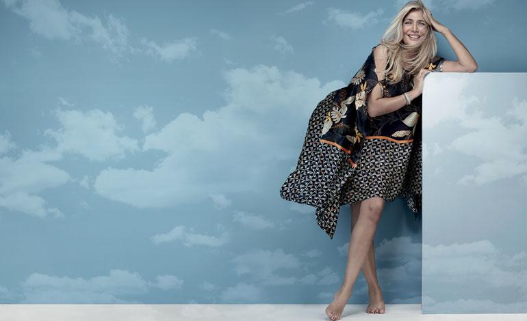 Mara Venier fashion designer per Luisa Viola