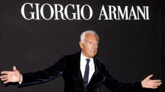 """Giorgio Armani:""""La moda oggi non deve essere solo provocazione"""""""