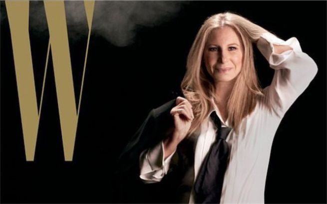 Barbra Streisand icona d'Hollywood conquista la cover di W Magazine