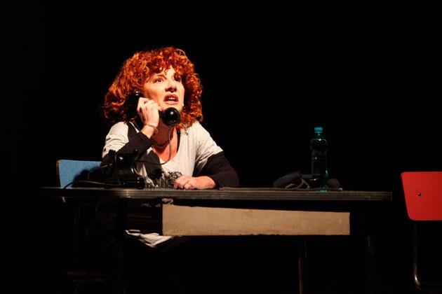 cinzia leone a teatro