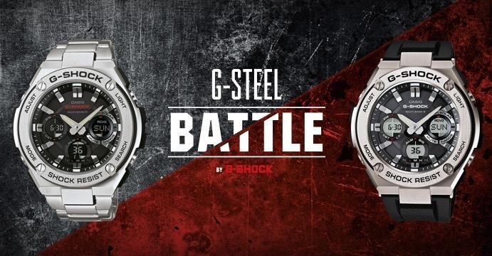 Casio, presentata ad Aprilia la nuova linea G-Steel.