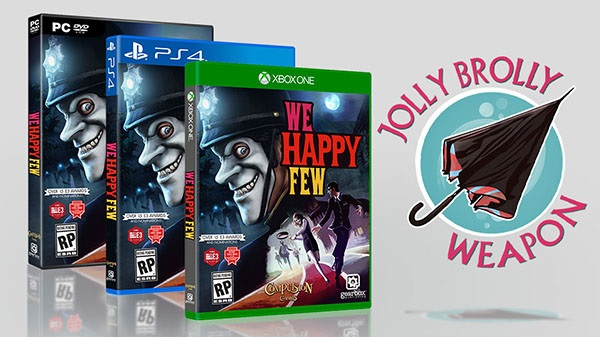We Happy Few: dal 13 Aprile su Playstation 4, Xbox One e PC!