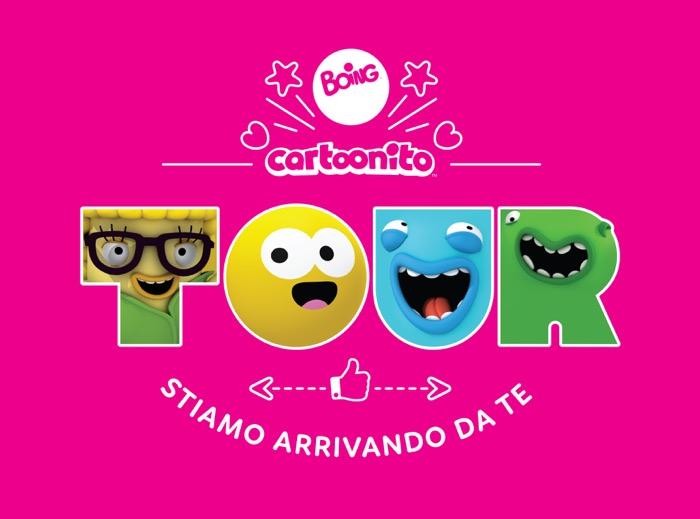 """""""Boing & Cartoonito in tour"""", una settimana dal vivo con i vostri canali preferiti"""