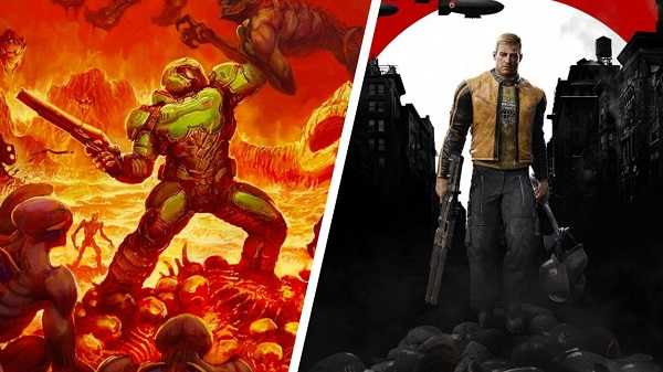 Doom e Wolfenstein II arrivano su Switch, Skyrim Special Edition a Novembre