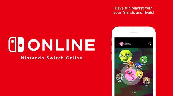 Nintendo Switch Online: l'app per cellulare si aggiorna
