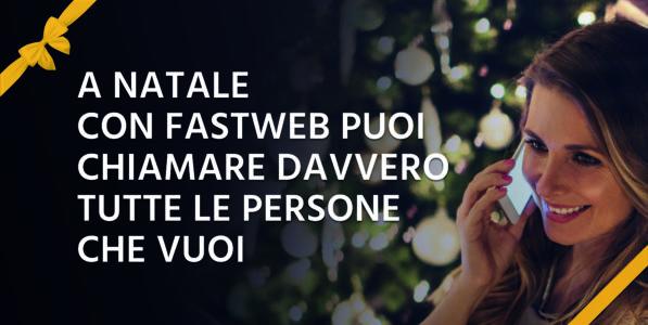 Fastweb e la promo natalizia per i clienti Mobile