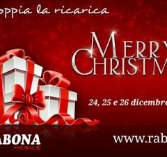 Rabona Mobile raddoppia le ricariche per Natale