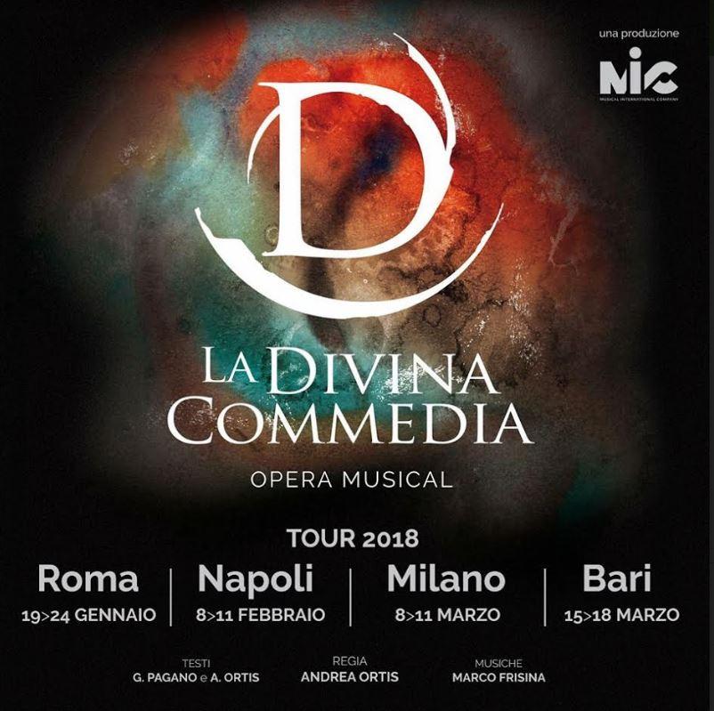 La Divina Commedia Opera Musical: Dal 19 Gennaio!