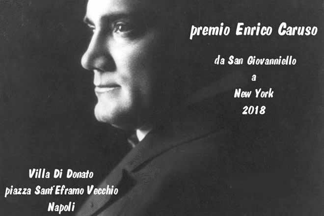 """""""Premio Enrico Caruso"""", la prima edizione a Napoli"""