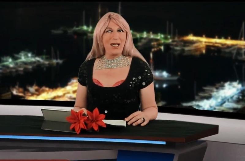L'irriverente Tg Vulcano con un nuovo volto Cindy Johnson