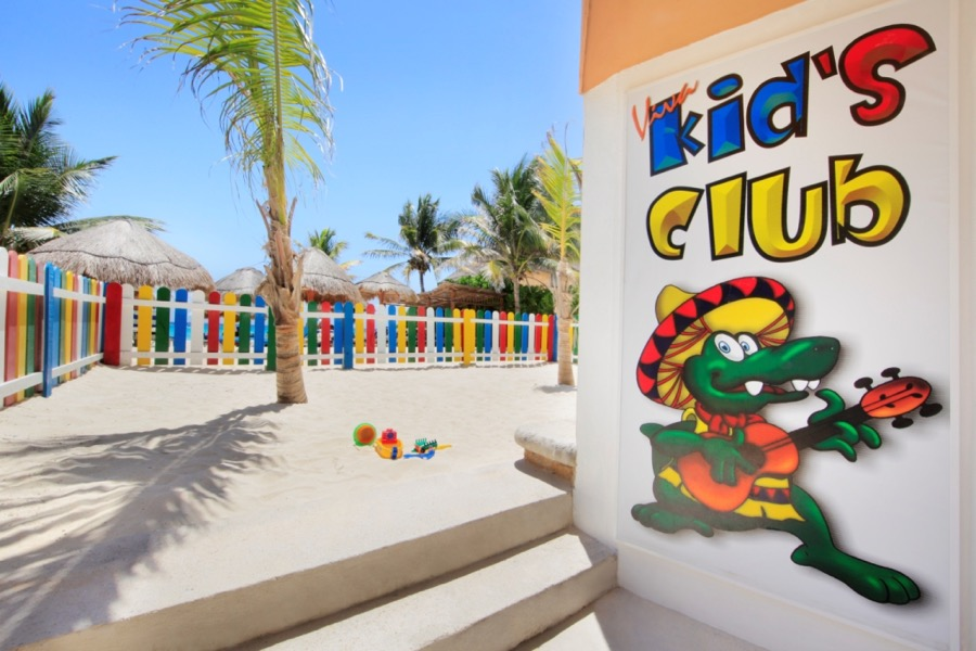 Viva Wyndham Azteca Messico kidsclub