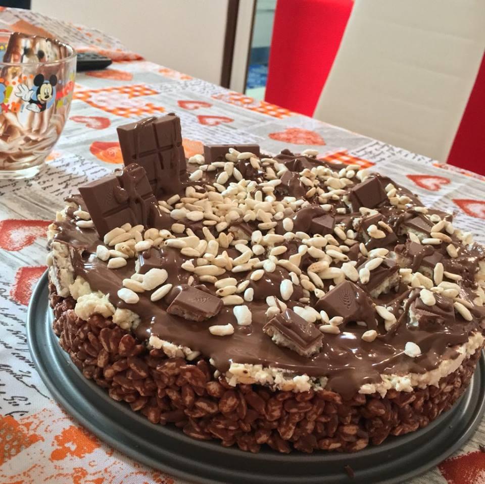 Torta Kinder Cereali: Le ricette di Giovanna Marchese