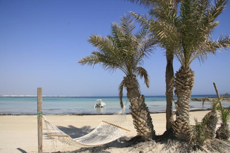 Spiaggia di Djerba Tunisia
