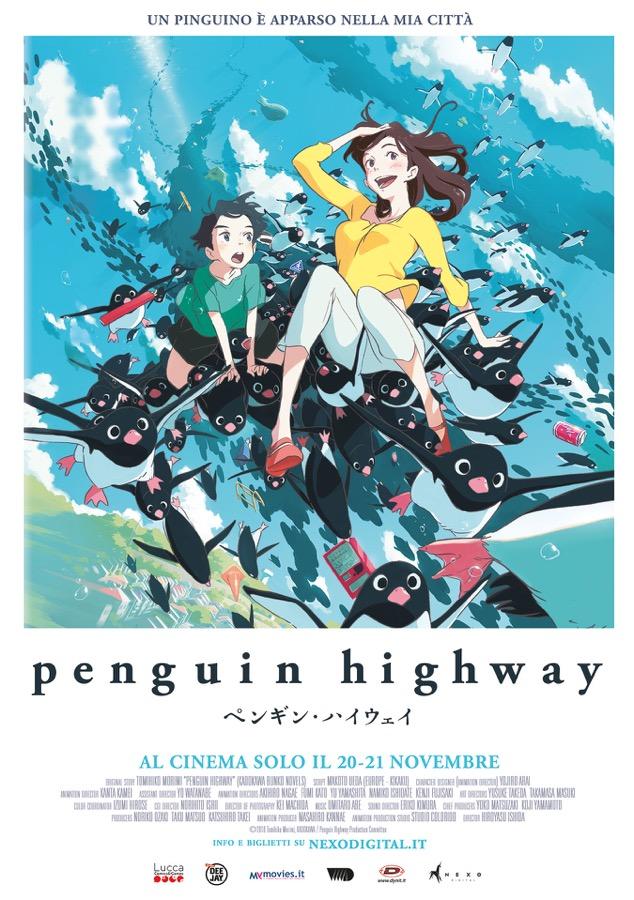 Penguin Highway poster
