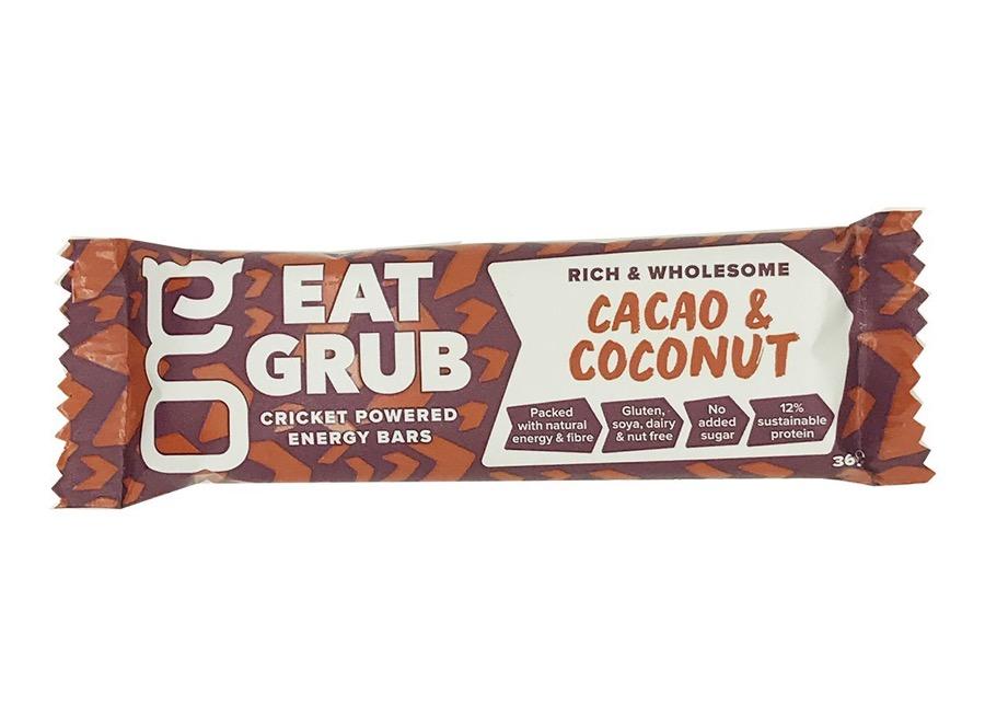 Eat Grub barretta con grilli energetica