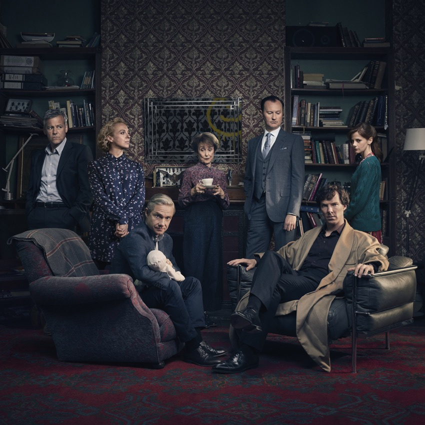 Sherlock, la serie britannica con Benedict Cumberbatch arriva su Spike tv