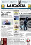 la stampa prima pagina