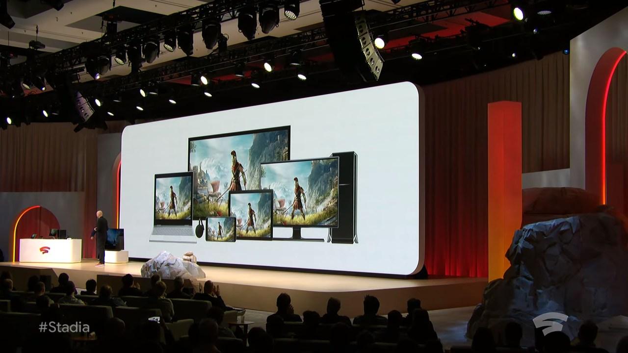 Stadia: Google presenta la sua piattaforma di cloud gaming