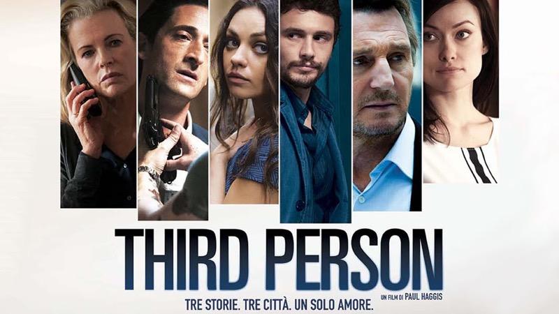 Guida Tv Sky Cinema 26 aprile: Napoli velata, Third Person