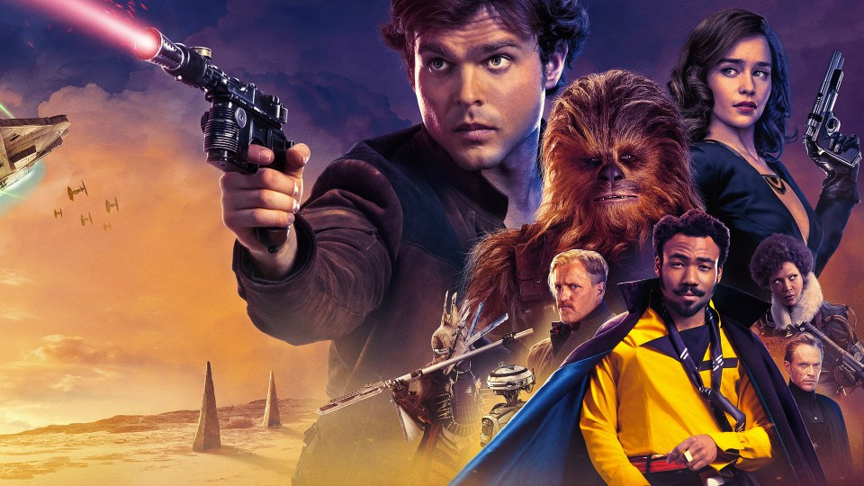 Solo- A Star Wars Story Sky cinema Action