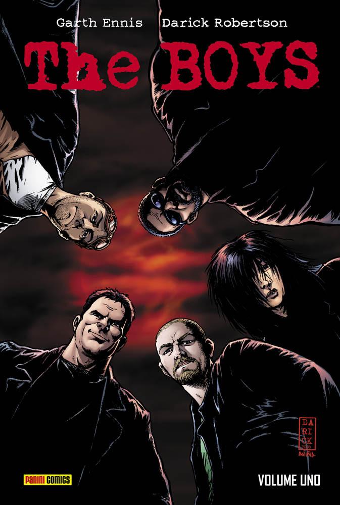 The Boys fumetto cover