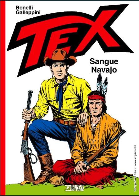 Tex. Sangue Navajo, la nuova avventura in libreria e fumetteria